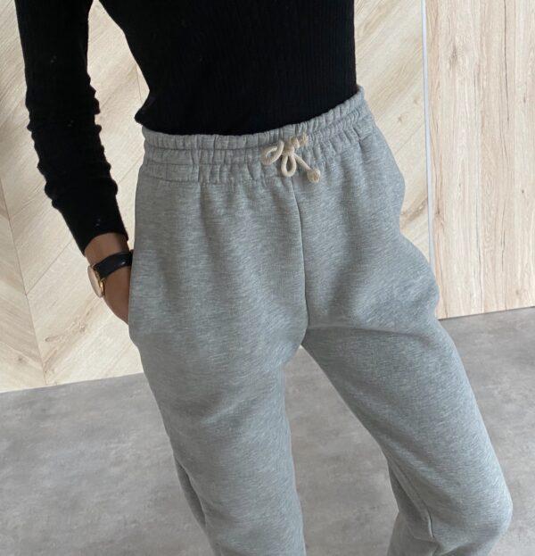 Hoodie / High waist sweatpants