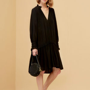 MagaliPascal_Mylo_Shirt_Dress_Black_1