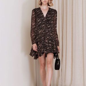 MagaliPascal_Chloe_Dress_Paisley_Black_1